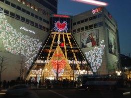 Lichterketten beim Dotta in Seoul